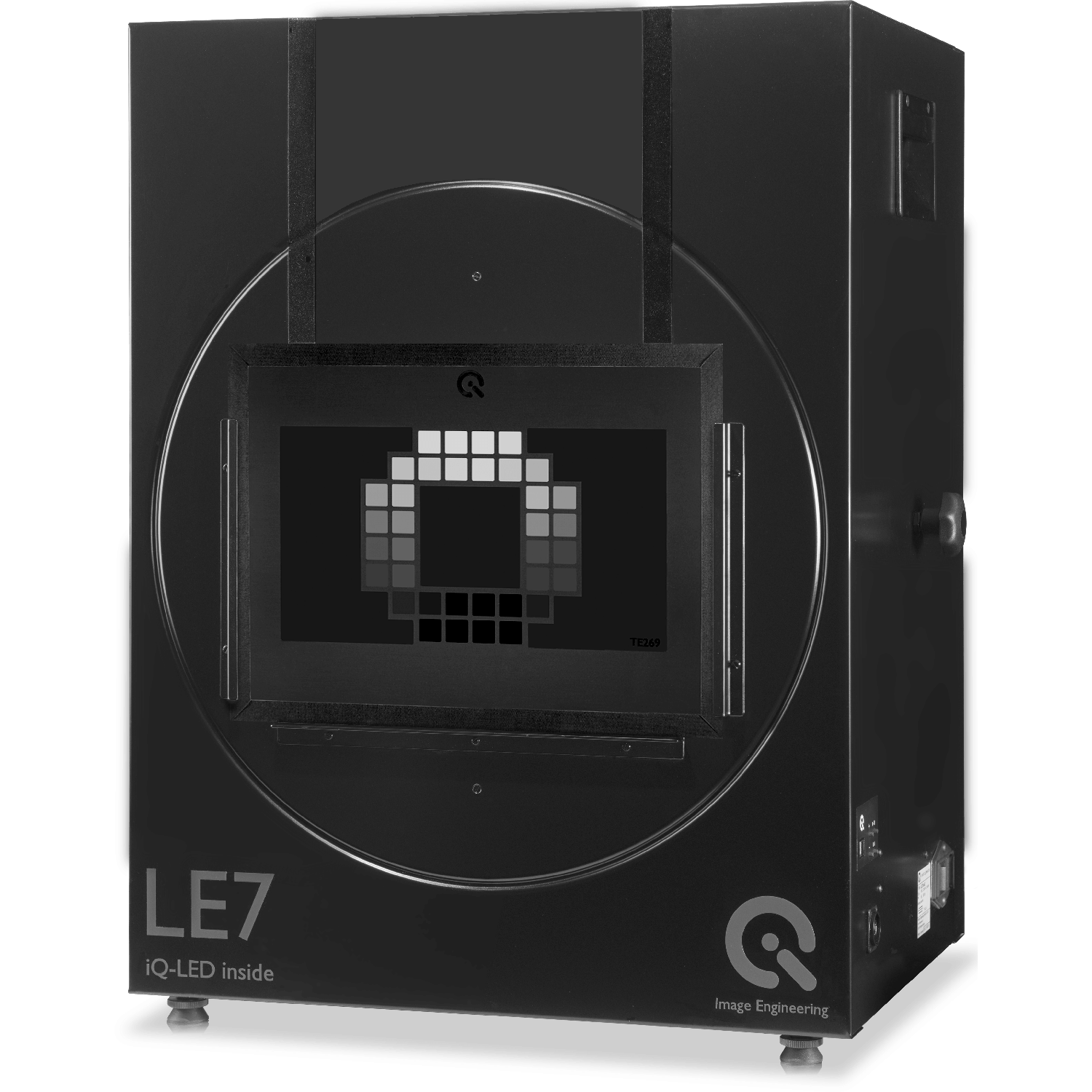 Le7 the iq led is a multi channel led light source that provides the possibility of generating the spectral characteristics of objects color charts nvjuhfo Images